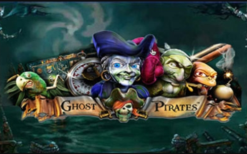 Ghost Pirates slots logo