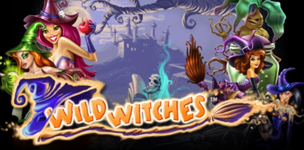 Wild Witches slots logo